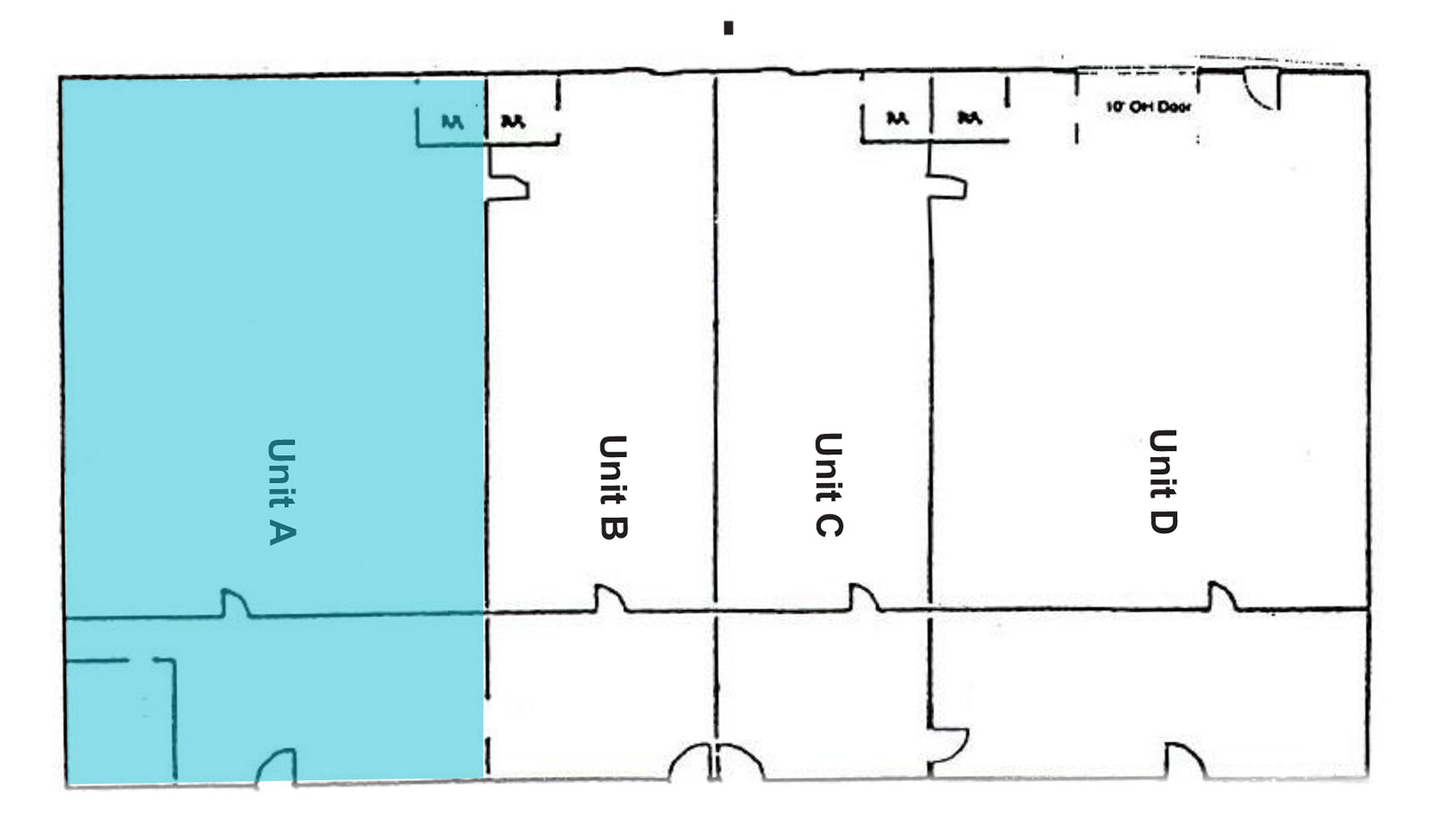 1341 Sherman Market - Floor Plan